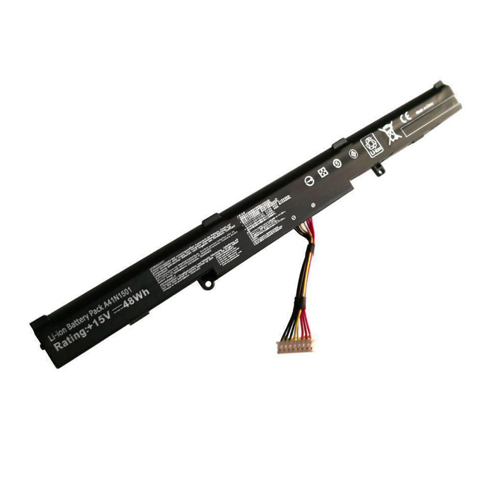 Compatible laptop battery ASUS  for A41N1501