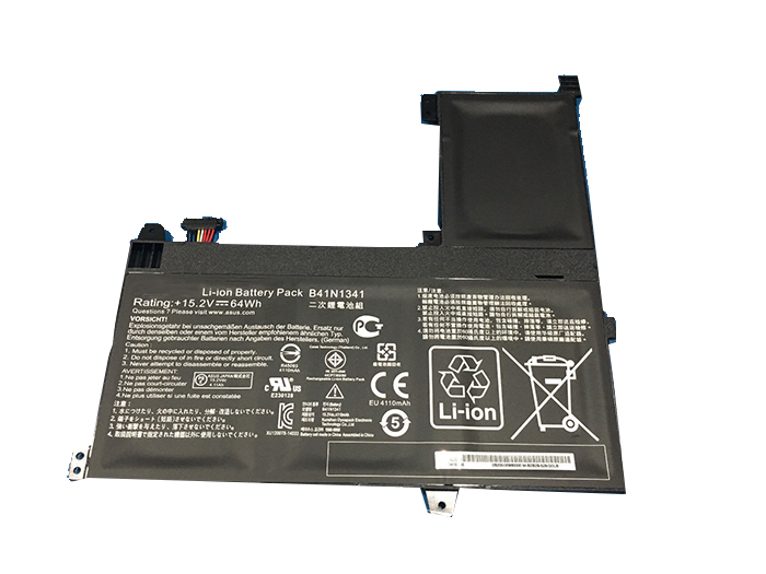 Compatible laptop battery asus  for B41N1341