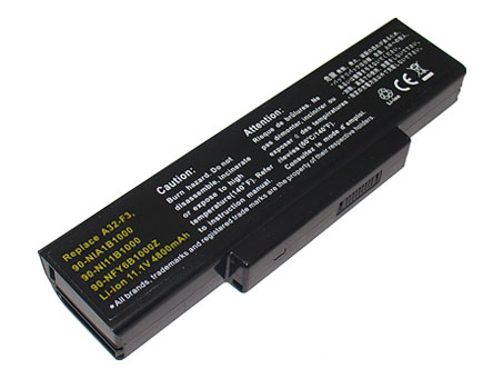 Compatible laptop battery asus  for F3Sa