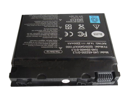 Compatible laptop battery advent  for 6553