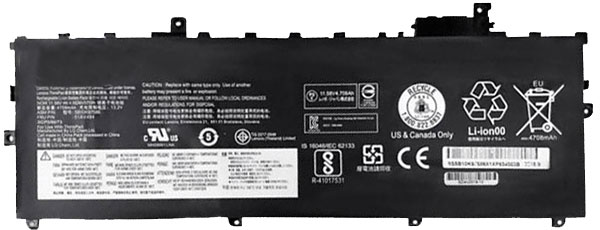 Compatible laptop battery lenovo  for ThinkPad-X1-Carbon-201820KHA001CD