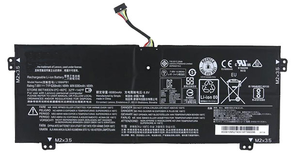 laptop battery náhrada za LENOVO L16L4PB1