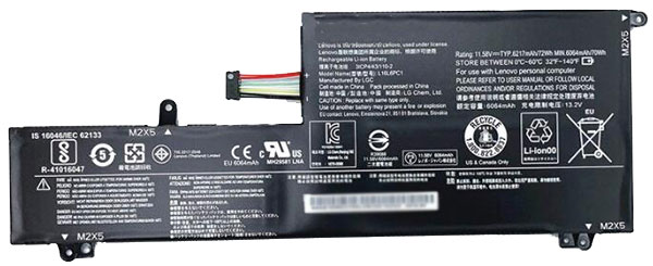laptop battery Replacement for LENOVO L16M6PC1