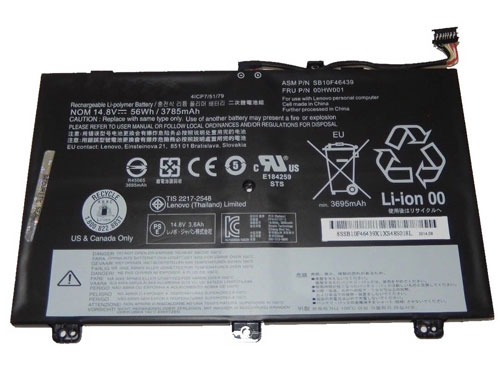 Compatible laptop battery lenovo  for ThinkPad-S3-Yoga-14-Series